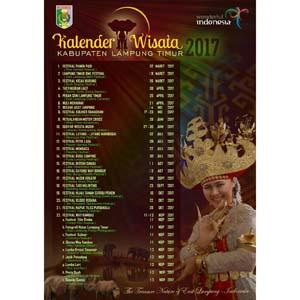 Kalender pariwisata Lampung Timur 2017 thumbnail