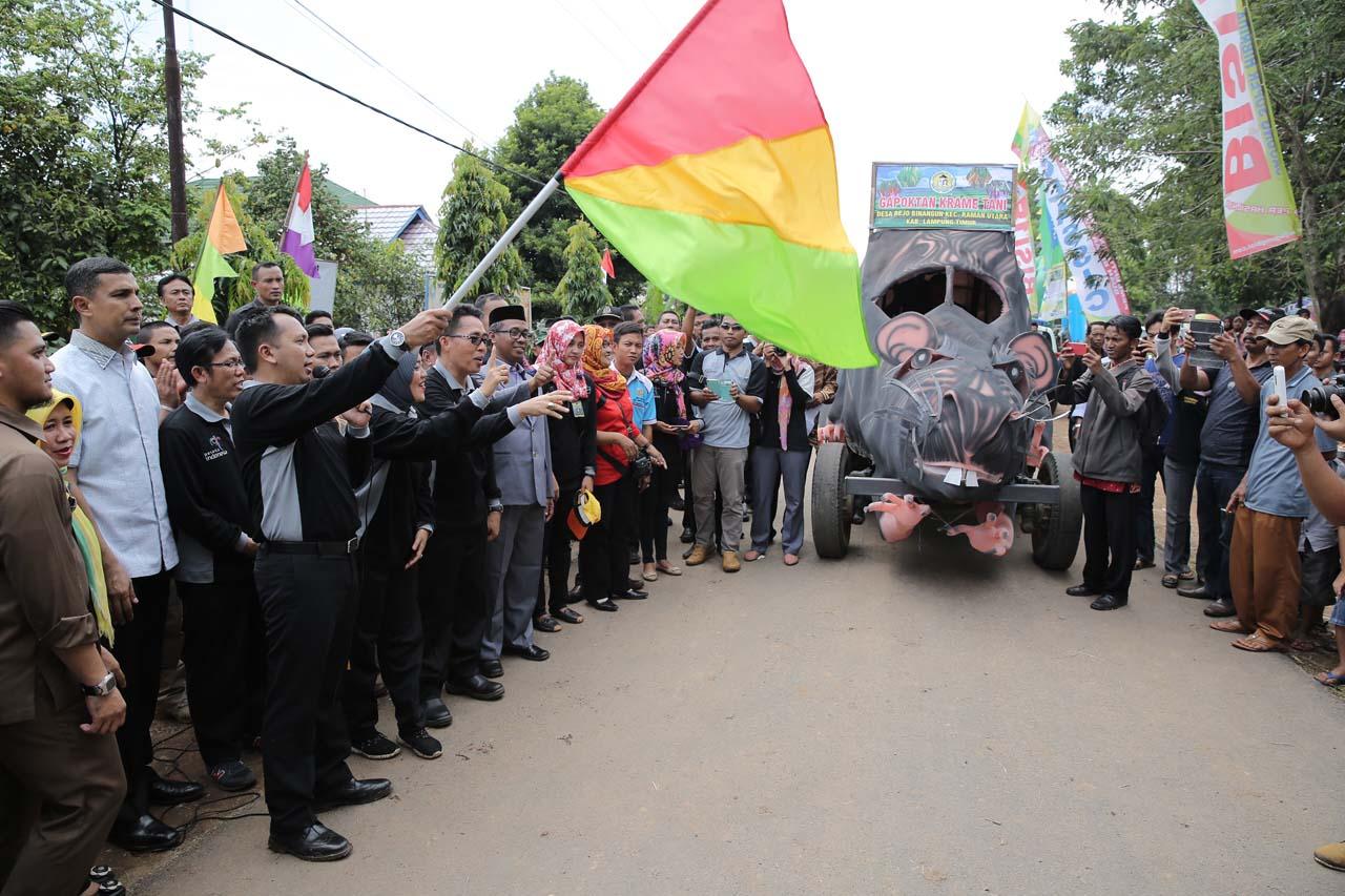 Festival Panen Padi - Wisata Lampung Timur - Gede Setiyana - 1