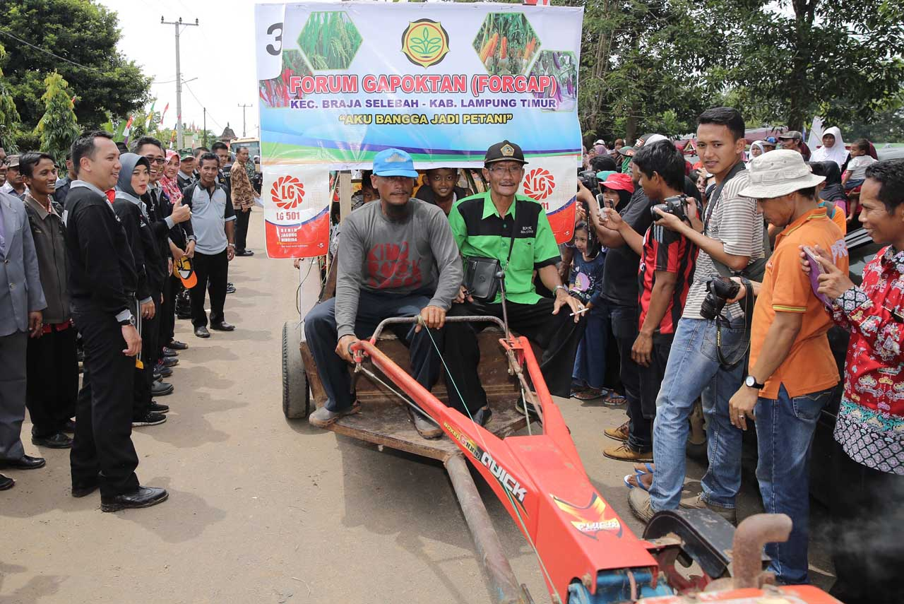Festival Panen Padi - Wisata Lampung Timur - Gede Setiyana - 2