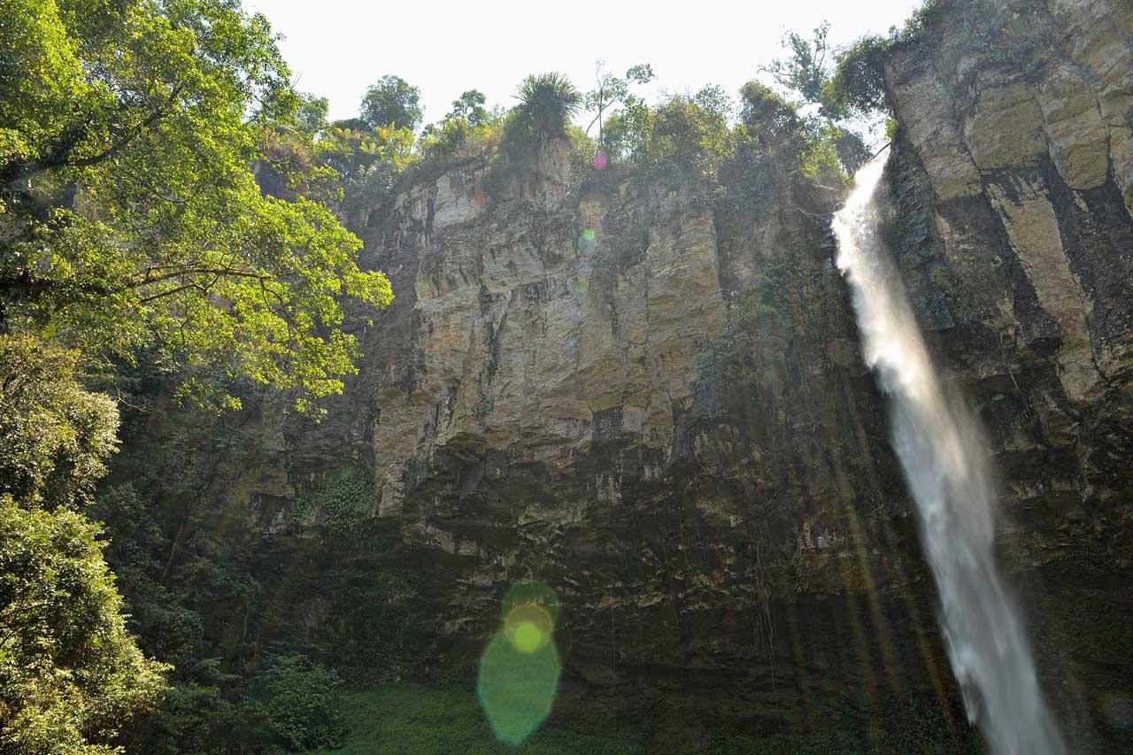 Air Terjun Putri Malu - Keliling Lampung - wisata way kanan - yopie pangkey
