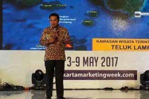 Jakarta Marketing Week 2017 - Pariwisata Lampung - Gubernur Lampung - muhammad ridho ficardo @