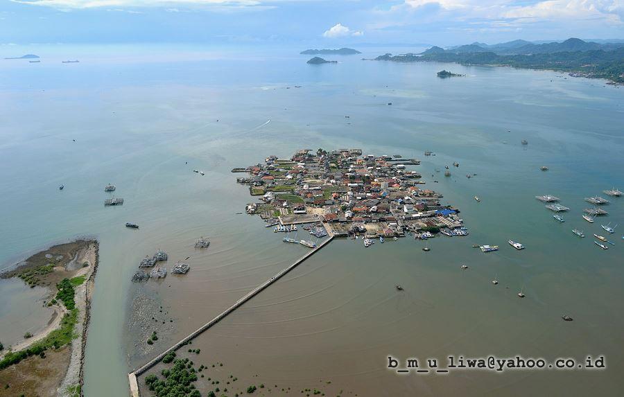 Pulau Pasaran - Paramotor Lampung - Budhi Marta Utama