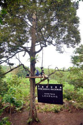 Tahura Wan Abdul Rahman - tempat wisata di bandar lampung - Yopie Pangkey