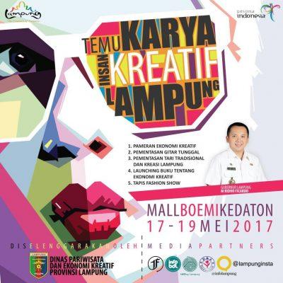 Temu Karya Insan Kreatif - Dinas Pariwisata Provinsi Lampung - 2