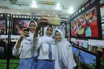 lomba foto selfie - Temu Karya Insan Kreatif Lampung - Pewarta Foto Indonesia Lampung