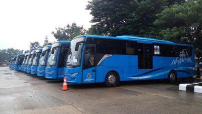 Bus Trans Lampung - bus bantuan kemenhub - PT LJU