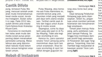 Pulau Wayang - Yopie Pangkey - Keliling Lampung - 2