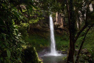 air terjun putri malu - wisata way kanan - yopie pangkey - keliling lampung - 3