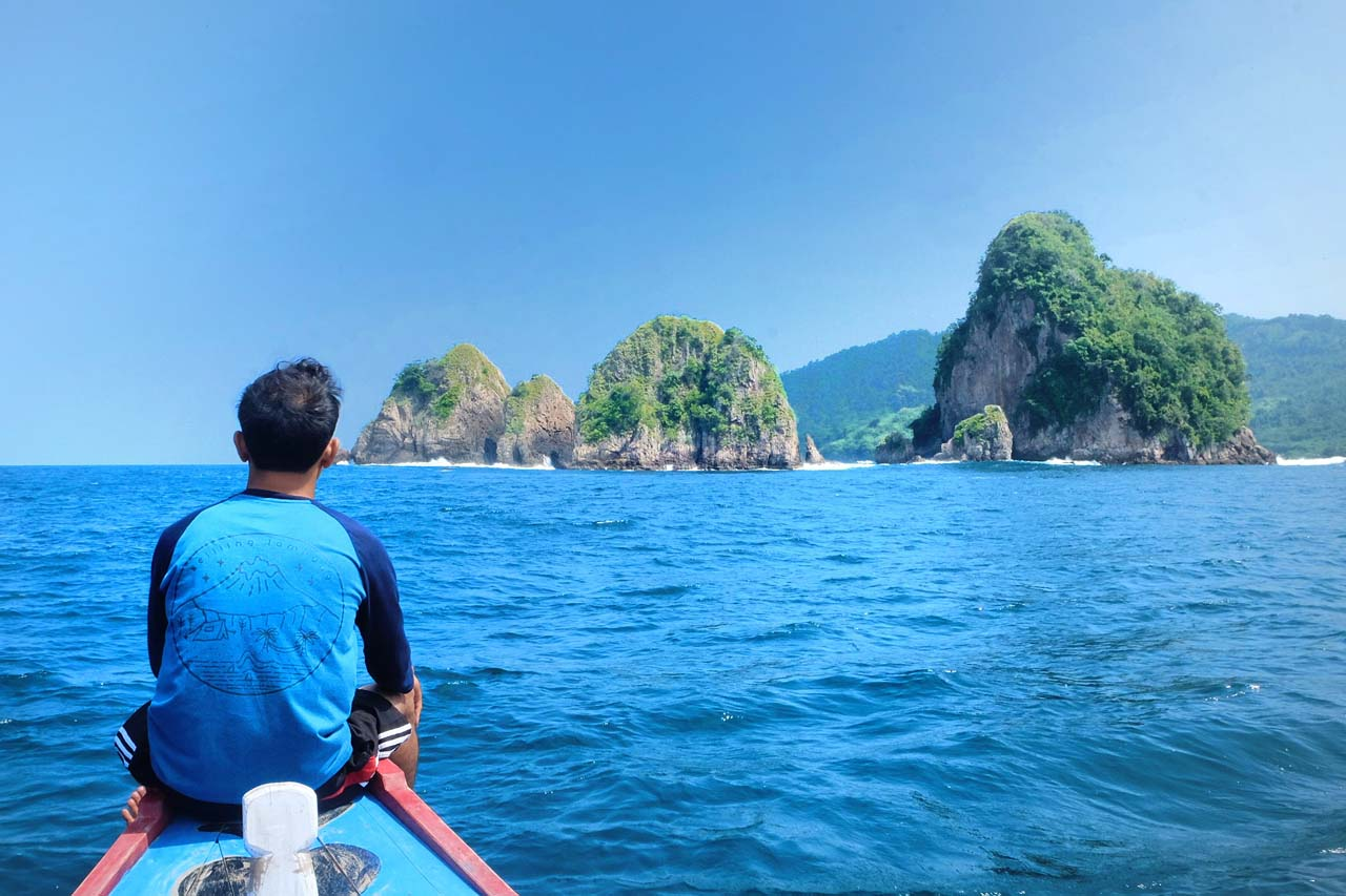 pulau wayang - masteguh78 - spot foto di lampung - 2