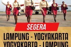 xpressair lampung - penerbangan lampung jogja - yogyakarta lampung @