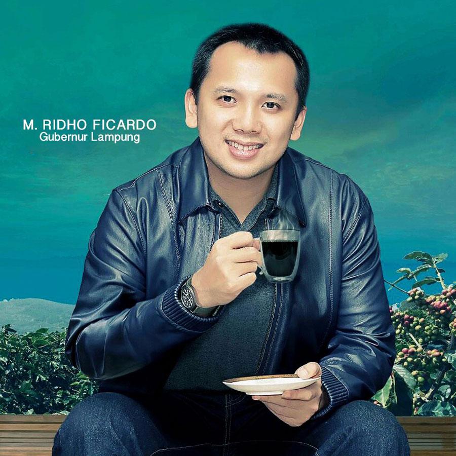Ridho Ficardo - Gubernur Lampung - Fine Robusta Lampung