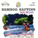 """""""Merah Putih Bamboo Rafting"""" Menyambut HUT RI ke-72 di Way Besai"""