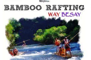 bambu rafting way besai - wisata way kanan