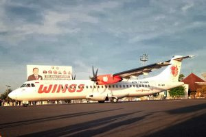 Penerbangan langsung Lampung Bengkulu - Wings Air pesawat ATR 72-600