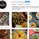 Mau Wisata Kuliner Lampung, Follow Saja 5 Akun Instagram Ini
