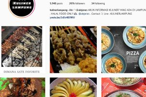 Wisata Kuliner Lampung - akun instagram @kuliner_lampung