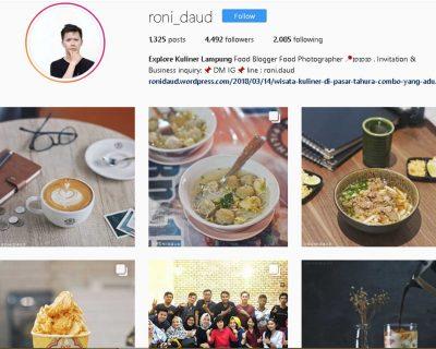 Wisata Kuliner Lampung - akun instagram @roni_daud