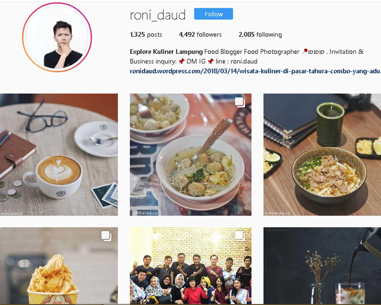 Mau Wisata Kuliner Lampung Follow Saja 5 Akun Instagram Ini