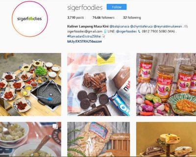 Wisata Kuliner Lampung - akun instagram @sigerfoodies