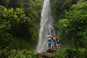 Air terjun Sinar Tiga di desa Harapan Jaya - Padang Cermin - Pesawaran - Lampung - Yopie Pangkey
