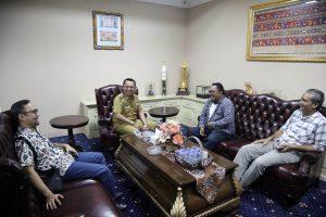 Audiensi Genpi Lampung dengan Gubernur Lampung - Ridho Ficardo - lalang waya market