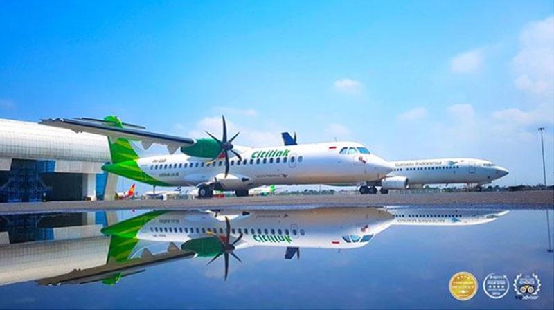 Penerbangan Citilink Halim Lampung Palembang Padang