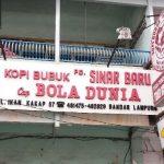 Romantika Kopi Bola Dunia Lampung