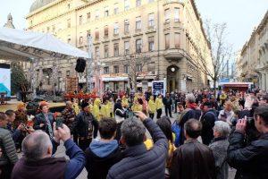 Seni Budaya Lampung Hadir di Tengah Kota Zagreb