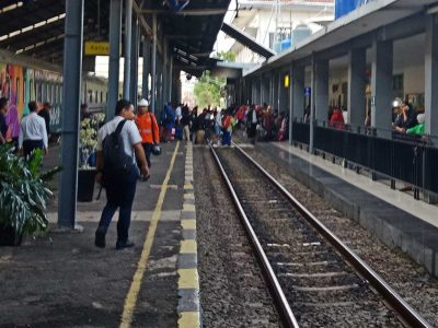 Stasiun Kereta Api Tanjungkarang Bandar Lampung