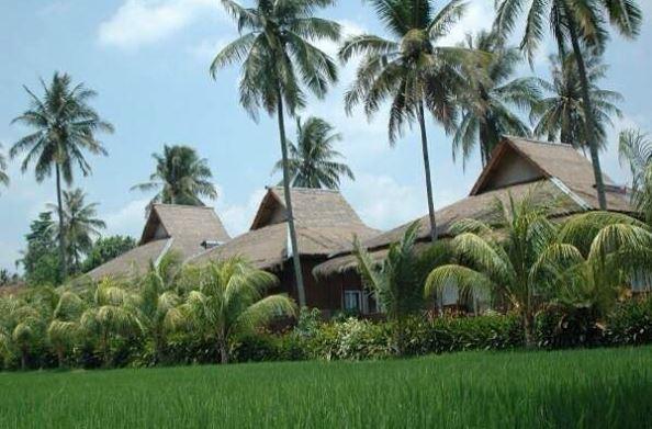 Tabek Indah Resort Natar Lampung - Edelweiss Cottages. (Foto IG @kampoengwisatatabekindahresort)