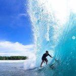 9 Foto Instagram Ujung Bocor Surfing Spot, Lokasi Krui Pro 2019