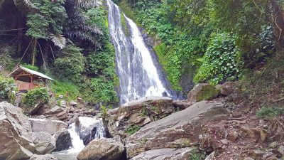 Air Terjun Indah Klawas - air terjun di lampung utara - Yandigsa
