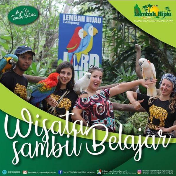 Bird park - Taman Satwa Lembah Hijau