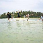 Ada Spot Foto Cantik di Pulau Mahitam Pesawaran Lampung