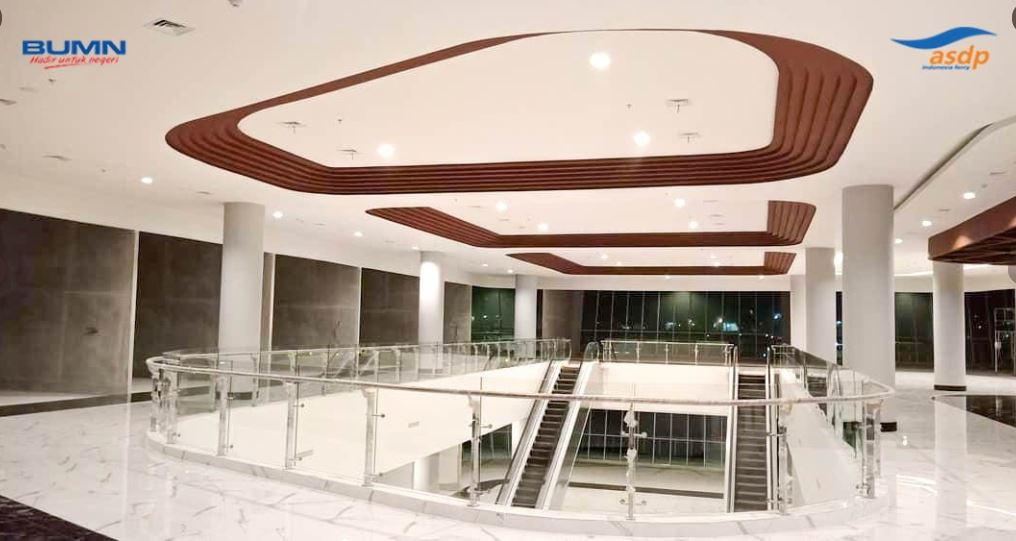 interior dermaga eksekutif bakauheni - @asdp191