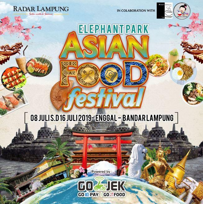 Elephant Park Asian Food Festival Bandar Lampung
