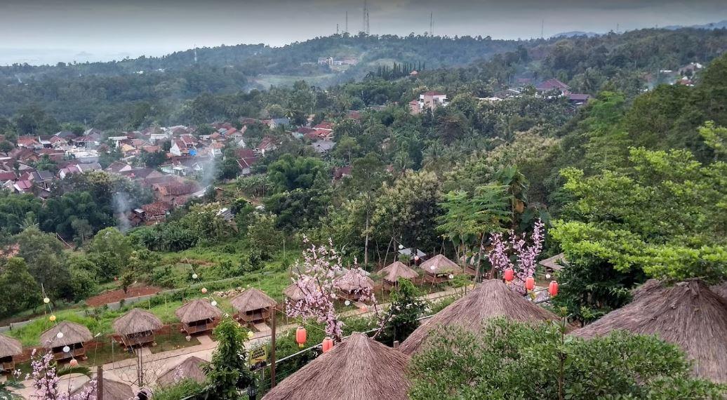 Lokasi BukitSakuraLampung - Dandi Pratama