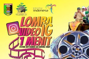 Lomba Video Instagram Festival Way Kambas XIX 2019