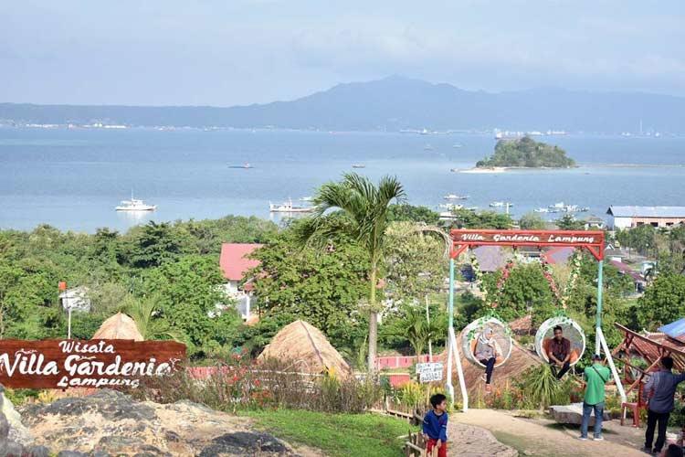 View Teluk Lampung di villa gardenia - nandonst77