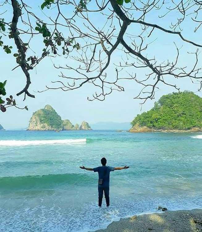 Pantai Kamintara Pesawaran - @lampung_gram