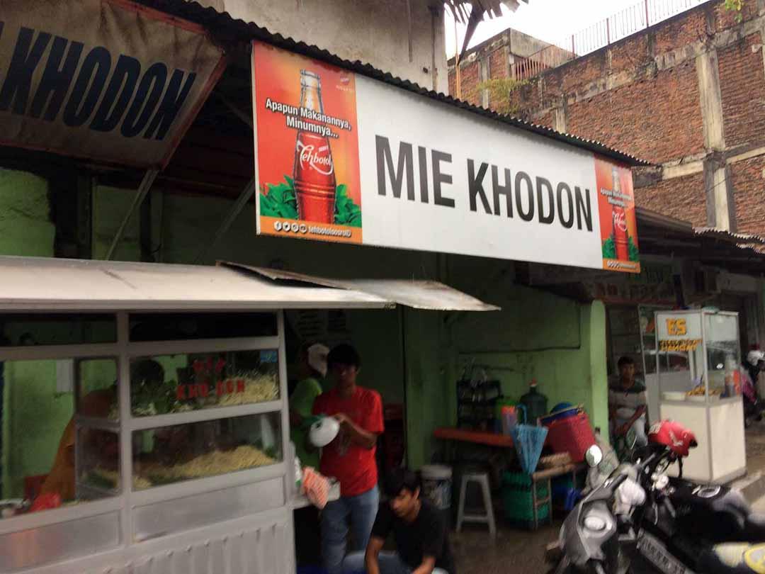Lokasi Mie Khodon - bandar lampung - kelilinglampung.net - yopie pangkey