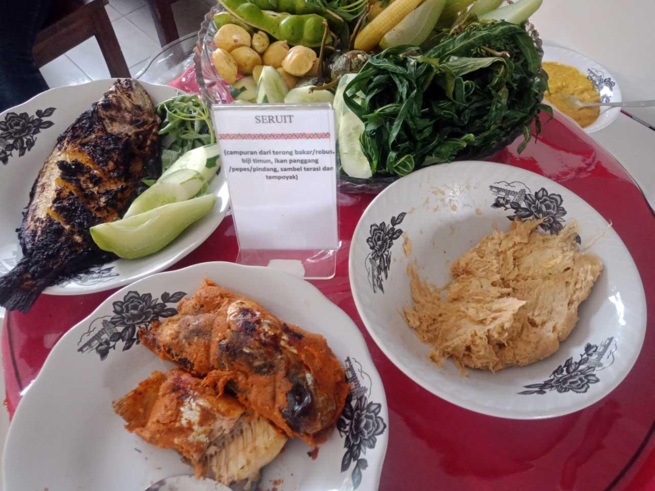 Foto Gambar Seruit - Makanan Khas Lampung - Rumah Makan Cikwo Prasmanan - kelilinglampung.net - Yopie Pangkey