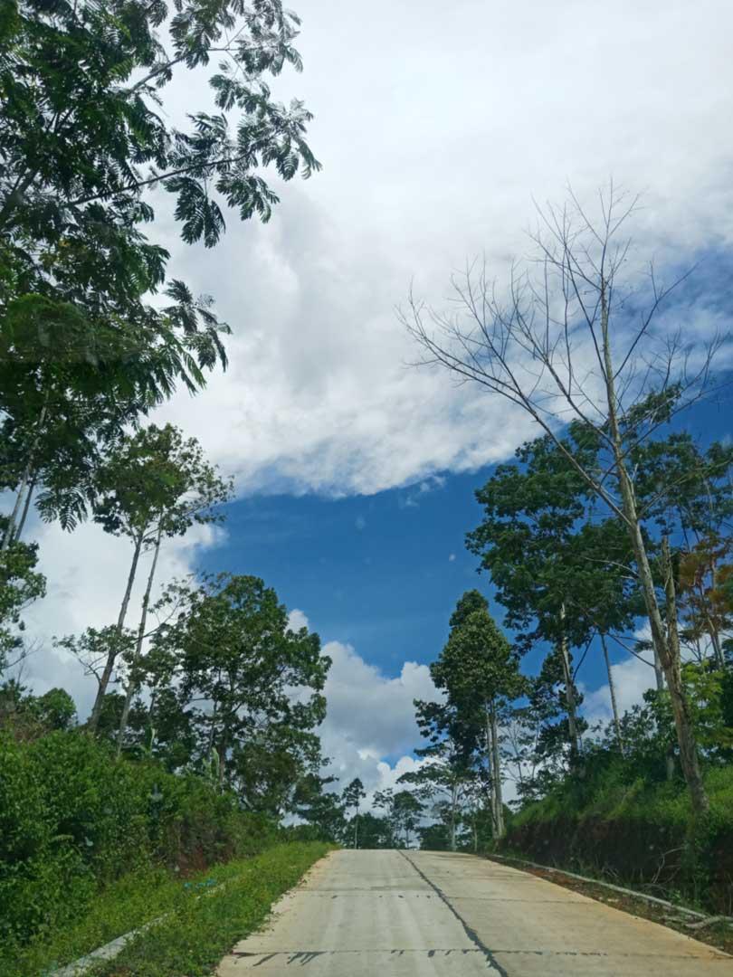 Jalan menuju Suoh - kelilinglampung.net - yopie pangkey