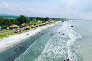 Lokasi Pantai Kerang Mas - Labuhan Maringgai Lampung Timur - desmonjosbur