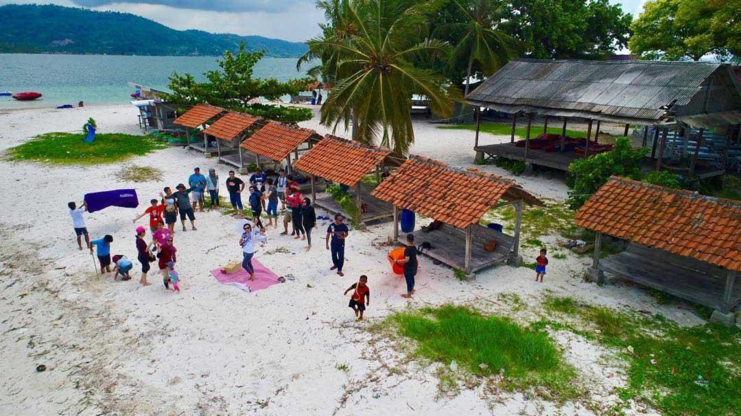 Fasilitas di Tangkil island Pesawaran Lampung - wisnus-1609403004870