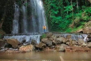 Air Terjun Anglo Kaliawi Gunungrejo Pesawaran Lampung - ichsaan14
