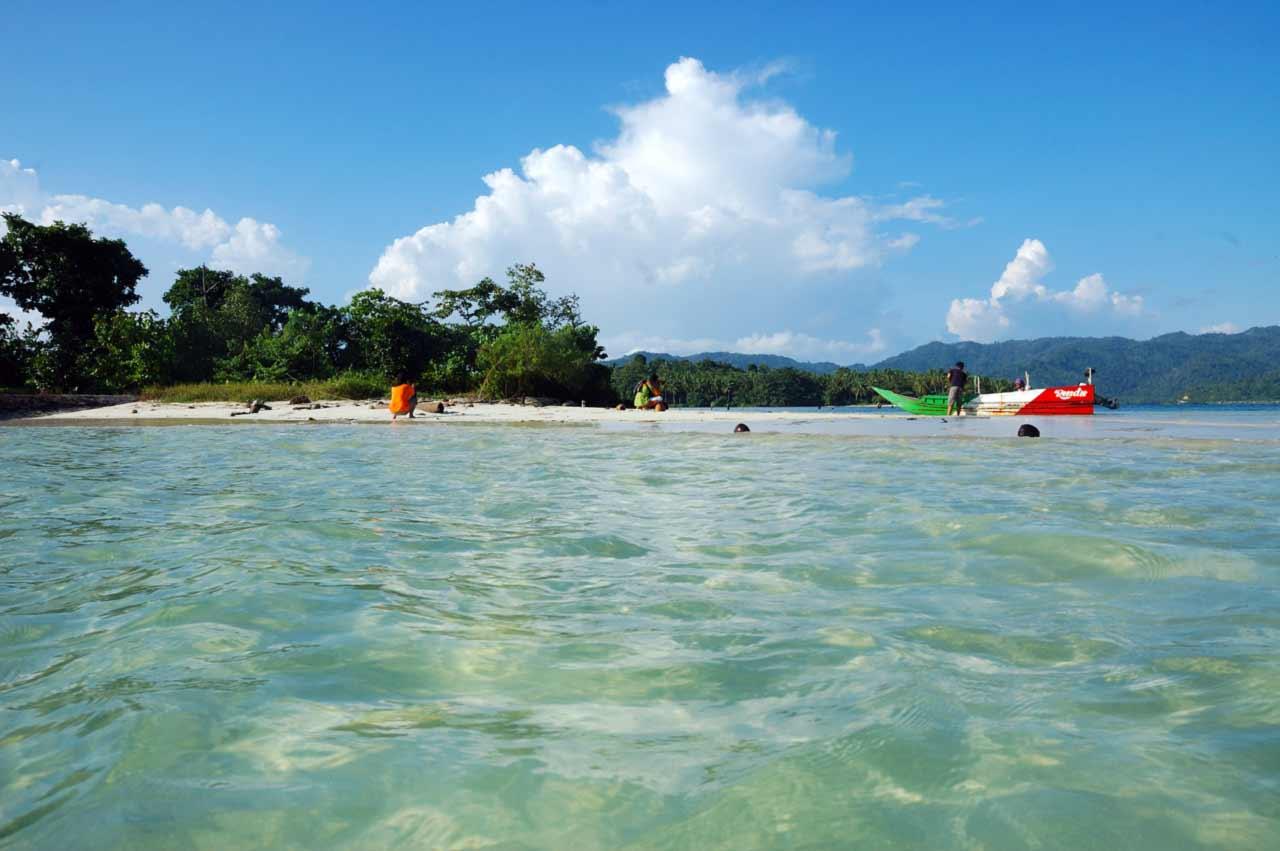 Foto Gambar Pulau Lunik Pesawaran - kelilinglampung.net - Yopie Pangkey - 1